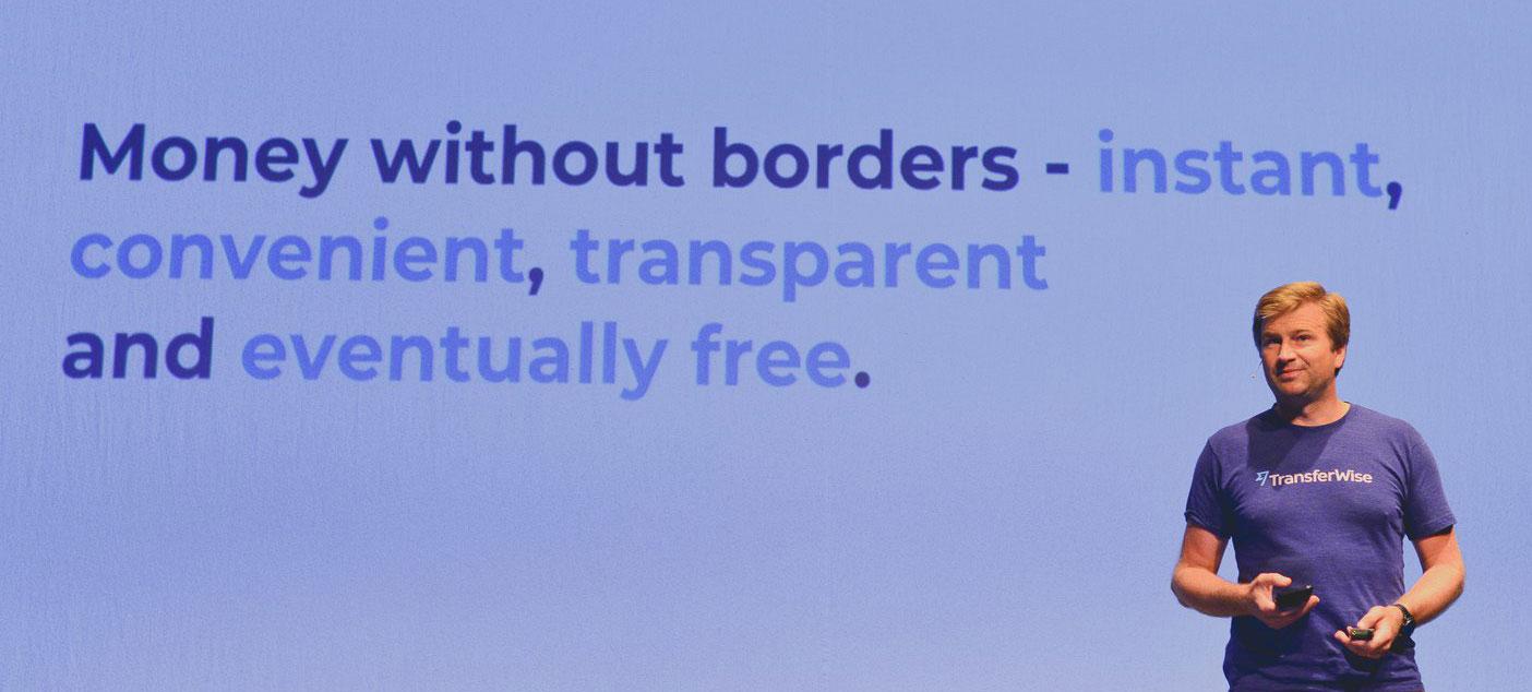 Il founder di TransferWise presenta il prodotto